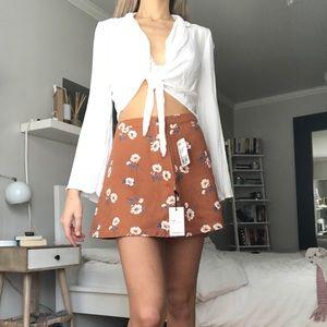 Never worn super cute floral skirt